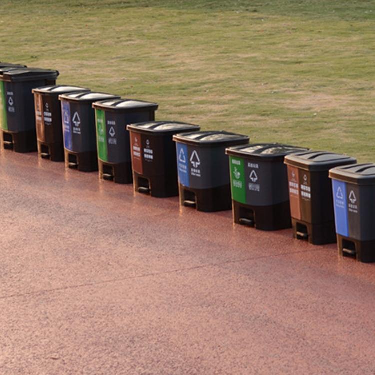 塑料垃圾分类垃圾桶